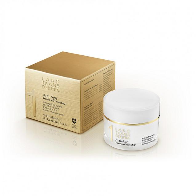 Антивозрастной восстанавливающий разглаживающий крем для лица. Anti-Age Renovating Smoothing Cream.