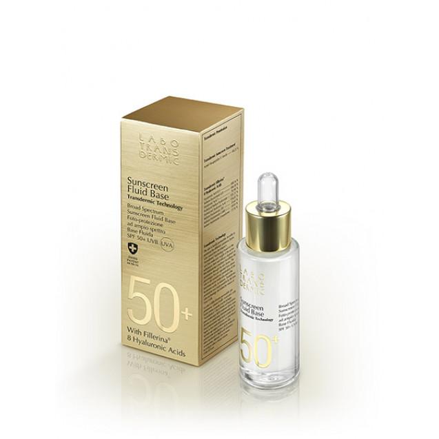Солнцезащитная флюид-основа SPF 50+. Labo Fluid Base SPF 50+ UVA UVB.